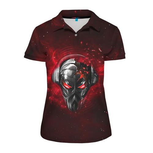 Женская рубашка поло 3D  Фото 01, Пиратская станция 2