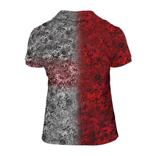 Женская рубашка поло 3D  Фото 02, Пиратская станция 4