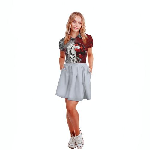 Женская рубашка поло 3D  Фото 04, Пиратская станция 4
