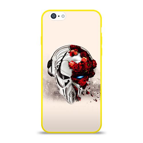 Чехол для Apple iPhone 6 силиконовый глянцевый  Фото 01, Пиратская станция 5
