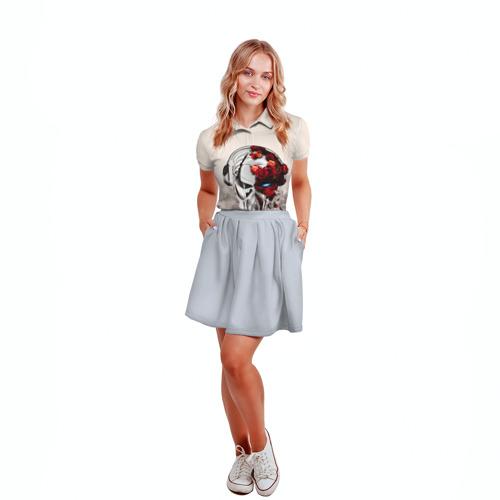 Женская рубашка поло 3D  Фото 04, Пиратская станция 5