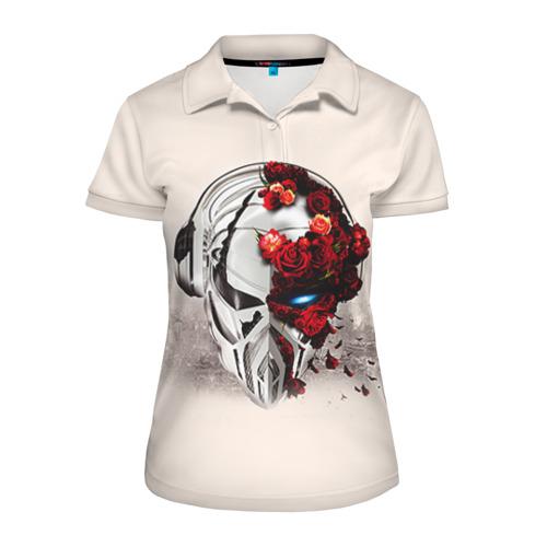 Женская рубашка поло 3D  Фото 01, Пиратская станция 5