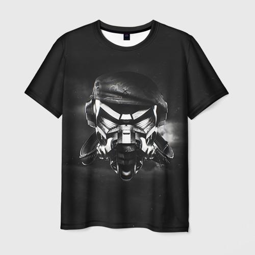 Мужская футболка 3D Пиратская станция 6