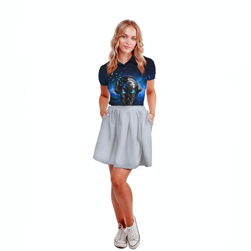 Женская рубашка поло 3D Пиратская станция 6
