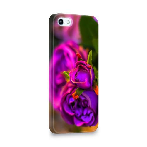 Чехол для Apple iPhone 5/5S 3D  Фото 02, Цветы