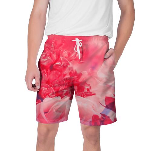 Мужские шорты 3D  Фото 01, Цветы
