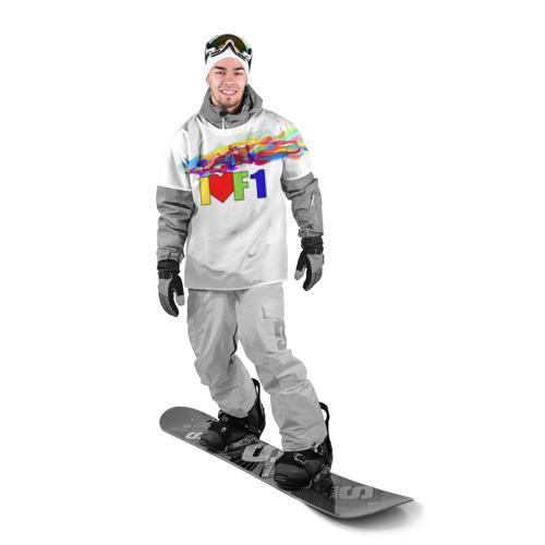 Накидка на куртку 3D  Фото 03, Я люблю F1