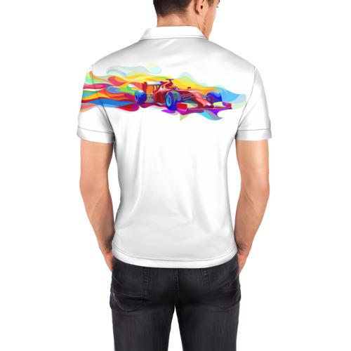 Мужская рубашка поло 3D  Фото 04, Я люблю F1