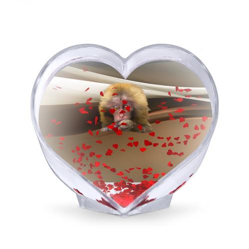Сувенир Сердце  Фото 02, Мартышка