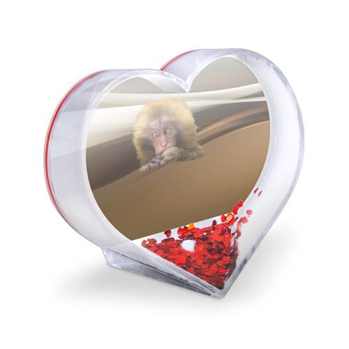 Сувенир Сердце  Фото 03, Мартышка