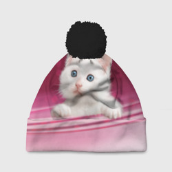 Белый котёнок