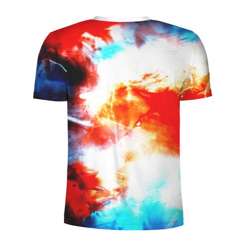 Мужская футболка 3D спортивная  Фото 02, Потертость