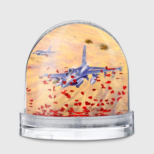 Водяной шар  Фото 01, Самолет