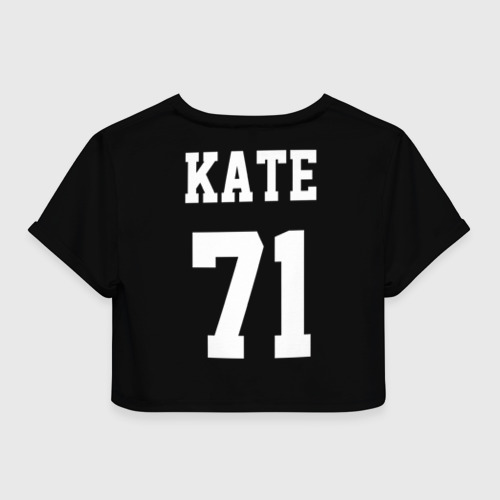 Женская футболка 3D укороченная  Фото 02, Kate