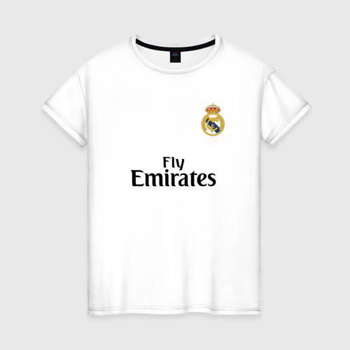 Женская футболка хлопок Реал форма