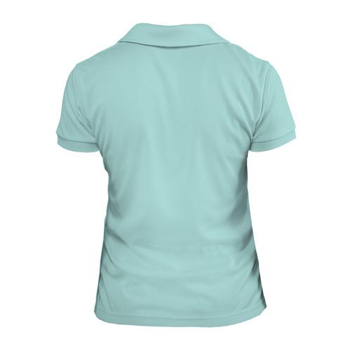 Женская рубашка поло 3D  Фото 02, Единорог