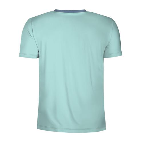 Мужская футболка 3D спортивная Единорог Фото 01