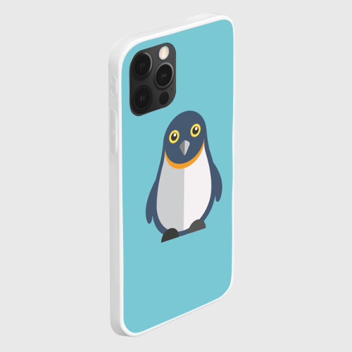 Чехол для iPhone 12 Pro Max Пингвин Фото 01