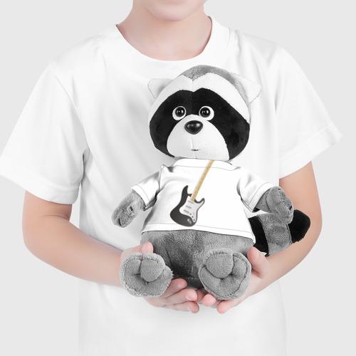 Енотик в футболке 3D  Фото 04, Электрогитара