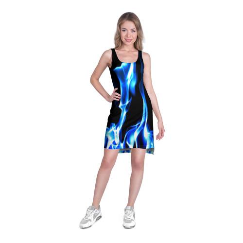 Платье-майка 3D Огонь Фото 01