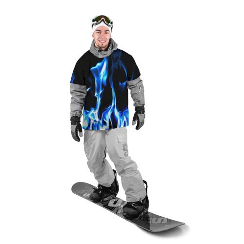 Накидка на куртку 3D Огонь Фото 01