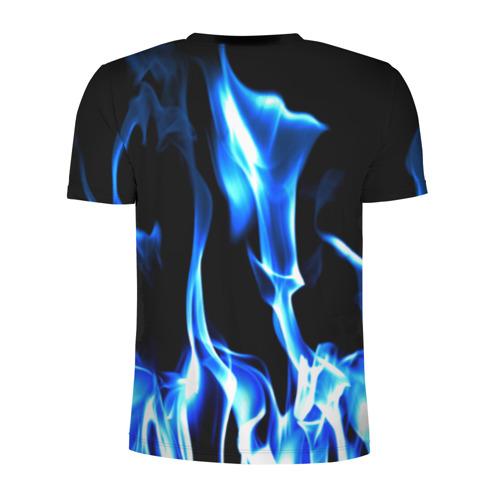 Мужская футболка 3D спортивная  Фото 02, Огонь