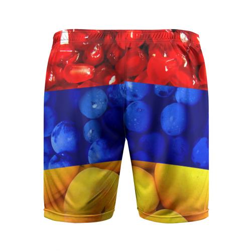 Мужские шорты 3D спортивные  Фото 02, Флаг Армении