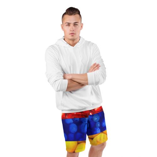 Мужские шорты 3D спортивные  Фото 05, Флаг Армении