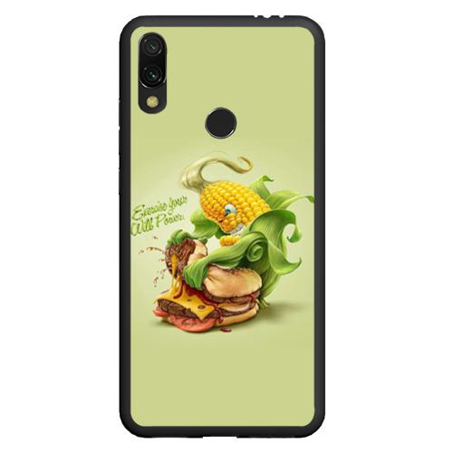 Чехол для Xiaomi Redmi Note 7 Правильное питание Фото 01