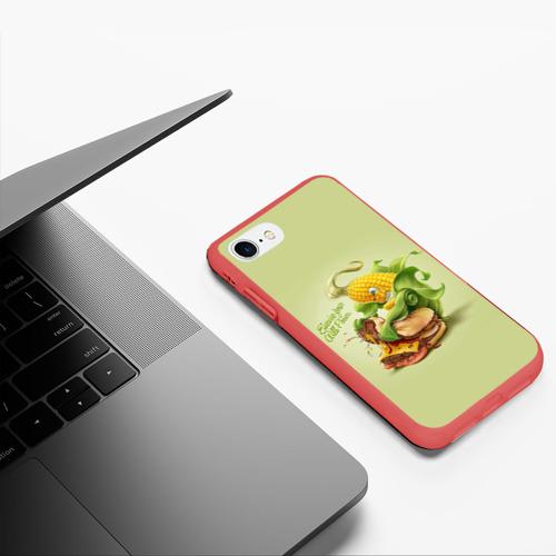 Чехол для iPhone 7/8 матовый Правильное питание Фото 01