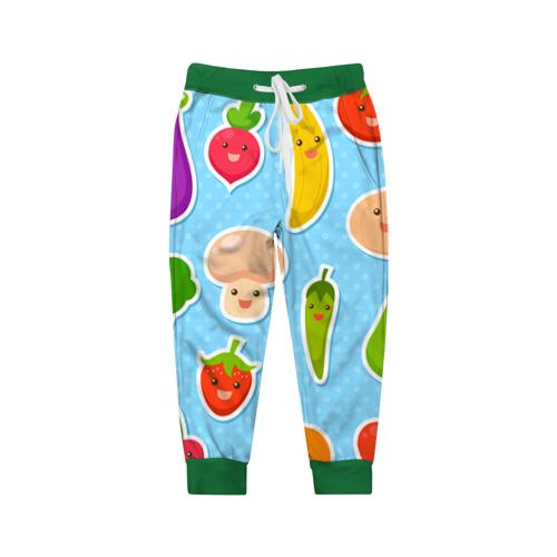 Детские брюки 3D  Фото 01, Правильное питание