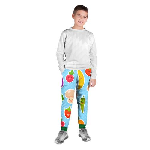 Детские брюки 3D  Фото 03, Правильное питание