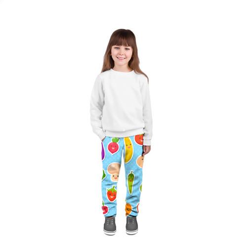 Детские брюки 3D  Фото 04, Правильное питание