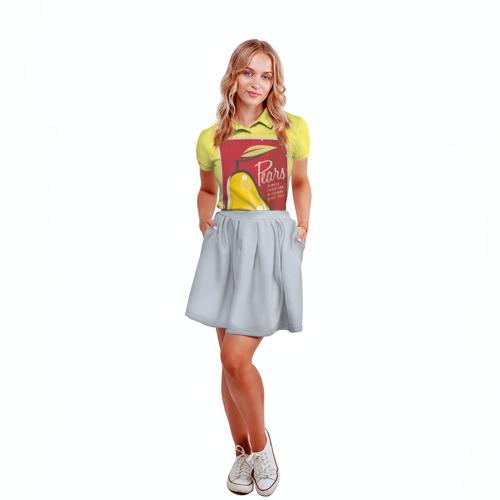 Женская рубашка поло 3D  Фото 04, Правильное питание