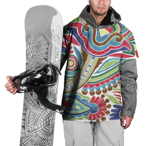 Накидка на куртку 3D  Фото 01, Роспись красками
