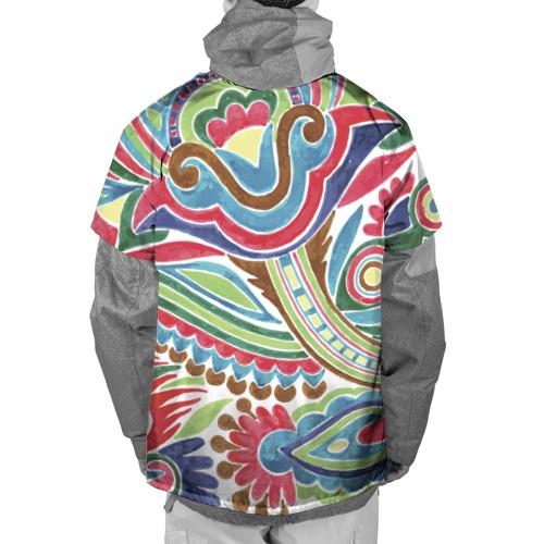 Накидка на куртку 3D  Фото 02, Роспись красками