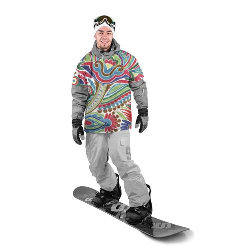 Накидка на куртку 3D  Фото 03, Роспись красками