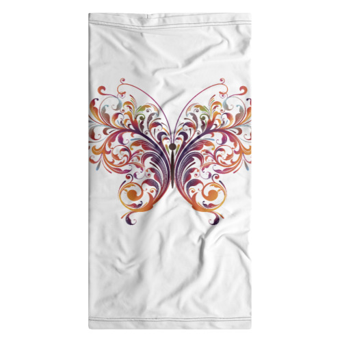 Бандана-труба 3D  Фото 07, Узор бабочка