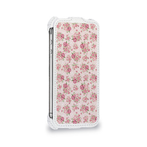 Чехол для Apple iPhone 4/4S flip  Фото 05, Fashion sweet flower