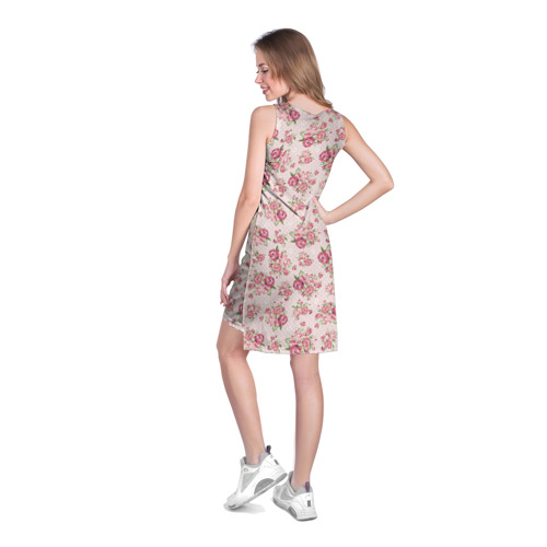 Платье-майка 3D Fashion sweet flower Фото 01