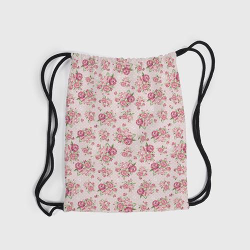 Рюкзак-мешок 3D Fashion sweet flower Фото 01