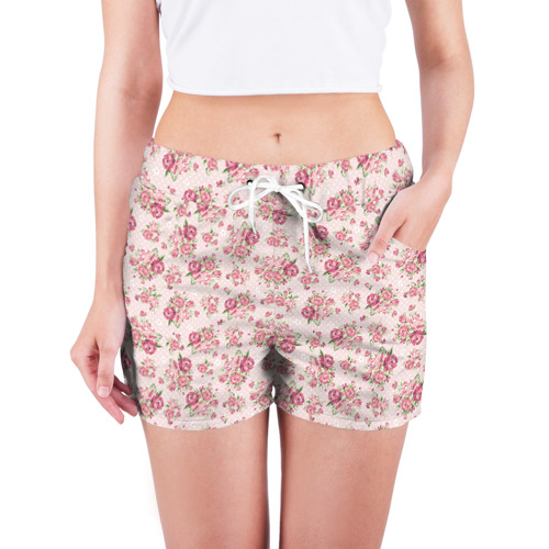 Женские шорты 3D Fashion sweet flower Фото 01