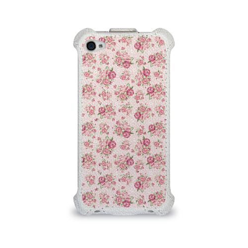 Чехол для Apple iPhone 4/4S flip  Фото 01, Fashion sweet flower