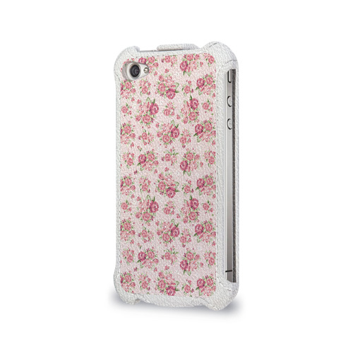 Чехол для Apple iPhone 4/4S flip  Фото 03, Fashion sweet flower