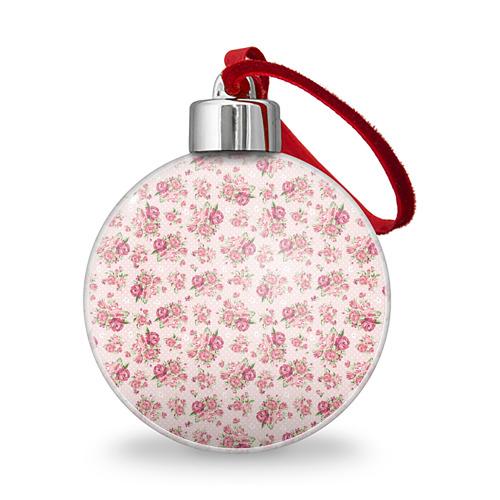 Ёлочный шар Fashion sweet flower Фото 01