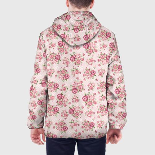 Мужская куртка 3D Fashion sweet flower Фото 01
