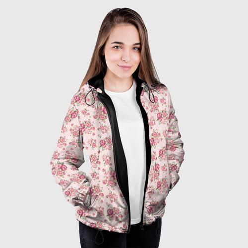 Женская куртка 3D Fashion sweet flower Фото 01