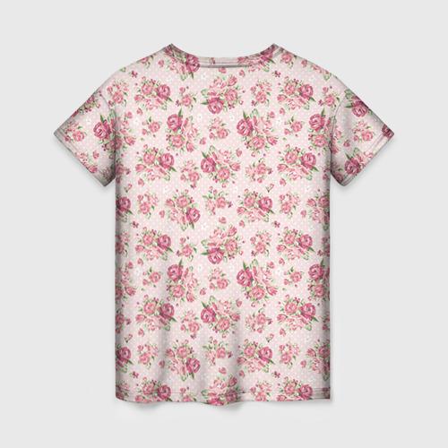 Женская футболка 3D Fashion sweet flower Фото 01