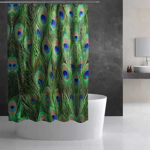 Штора 3D для ванной Life is beautiful Фото 01