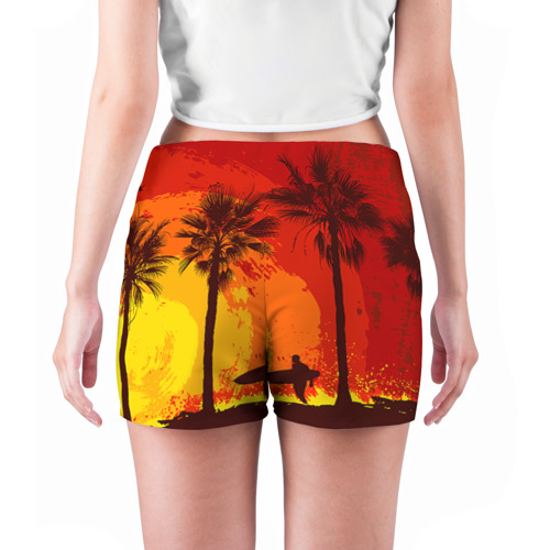 Женские шорты 3D  Фото 04, Summer Surf